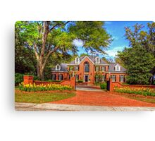 Beautiful house in SC-full Canvas Print