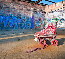 Roller Skate - Fenwick Colliery, East Holywell, Tyne & Wear by haggisandchips