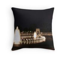 WWII Memorial - Washington, D.C. Throw Pillow