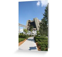 Contemporary Resort - Walt Disney World Greeting Card