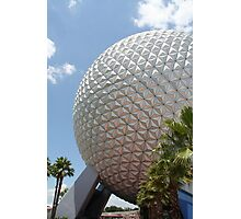 Spaceship Earth - Walt Disney World Photographic Print