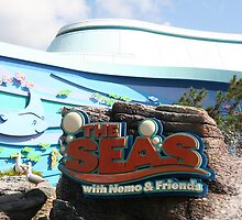 The Seas - Walt Disney World by searchlight