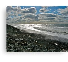 Salmon River Beach IV Canvas Print