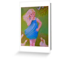 I Give Thanks To The Lord, For He Is Good! Greeting Card