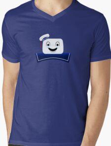 Stay Puft Marshmallow Man Mens V-Neck T-Shirt