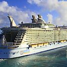 The current largest cruise ship on the sea! by jozi1