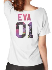 EVA MACHINE 01- BACKPIECE Women's Relaxed Fit T-Shirt