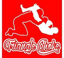 Triangle Choke Mixed Martial Arts White  Photographic Print