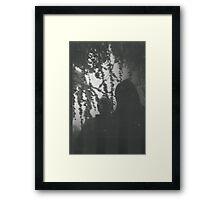 Black mood Framed Print