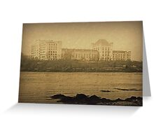 U.S. Naval Prision @ Portsmouth Naval Ship Yard Greeting Card