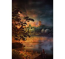 Magic of Japanese gardens. Photographic Print