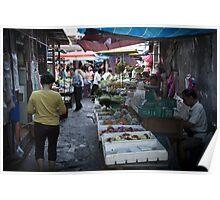Fish Market - Penang Poster