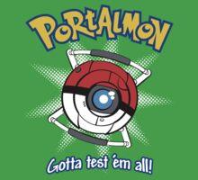 Portalmon Kids Tee