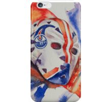 Vintage Goalie Mask - Grant Fuhr iPhone Case/Skin