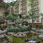 Gaylord Opryland Hotel - Dancing Water by Judy Wanamaker