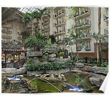 Gaylord Opryland Hotel - Dancing Water Poster