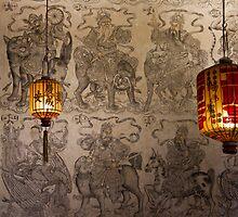 Chinese Lanterns - Penang by Colin  Ewington
