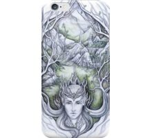 Hidden city of the elves iPhone Case/Skin