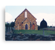 Historic Church, Hill End Canvas Print