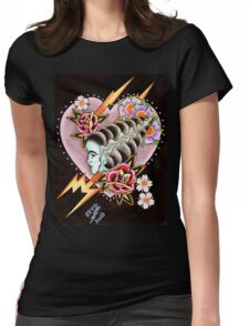 Bride of Frankenstein Womens Fitted T-Shirt