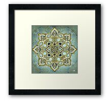 Religious Mystic Cross Framed Print