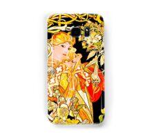 Mucha's Marguerite Bower Samsung Galaxy Case/Skin