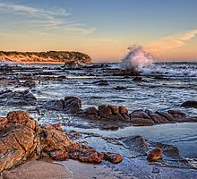 Stony Beach • Kilcunda • Victoria by William Bullimore