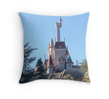 The Beast's Castle Throw Pillow