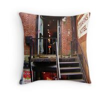 Trash And Vaudeville Throw Pillow