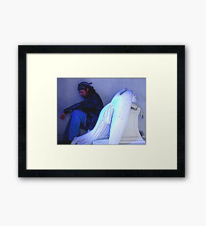 Angel And The Badman Framed Print