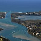 View of Harrington NSW Australia!! from Middle Brother Lookout!! by Heabar