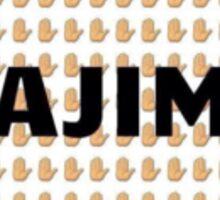 Hajima Stop Korean Sticker