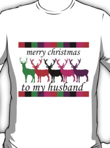 Merry Christmas to My Husband T-Shirt