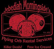 Jebediah Murningside's Bloody Flying Orbs by Aaron Garcia