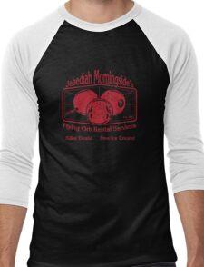 Jebediah Morningside's Bloody Flying Orbs Men's Baseball ¾ T-Shirt