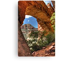 Fay's Arch HDR Canvas Print