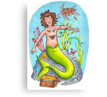 Mermaid Harry Canvas Print