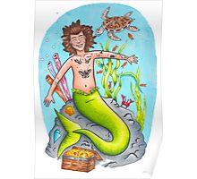 Mermaid Harry Poster