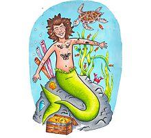 Mermaid Harry Photographic Print