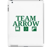 Team Arrow - Symbols w/ Text - Weapons iPad Case/Skin