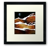 """Moon Over Planet X"" Framed Print"
