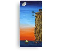 Oil Painting - The Cliff of Hiroshige. 2011 Canvas Print
