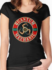 QUANTUM MECHANIC Women's Fitted Scoop T-Shirt