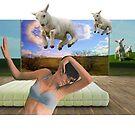 Counting sheep by Susan Ringler