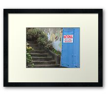 Outhouse 2011 Framed Print