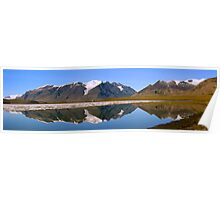 Ice cap reflections - Ellesmere Island Poster
