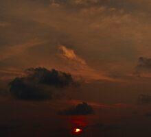 Uluwatu Sunset Panorama by kaledyson