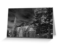 Gothic Church Greeting Card