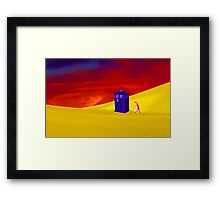 Searching for the Lost Companion Framed Print