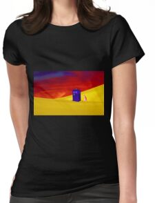 Searching for the Lost Companion Womens Fitted T-Shirt